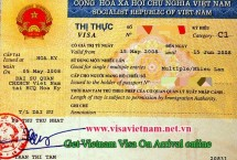 Get Vietnam visa approval letter for difficult nationality: Midle East, Africa citizen