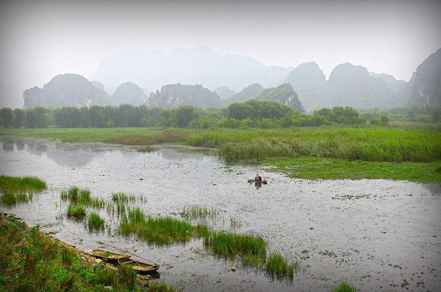 Back to nature at Van Long reserve, Ninh Binh province