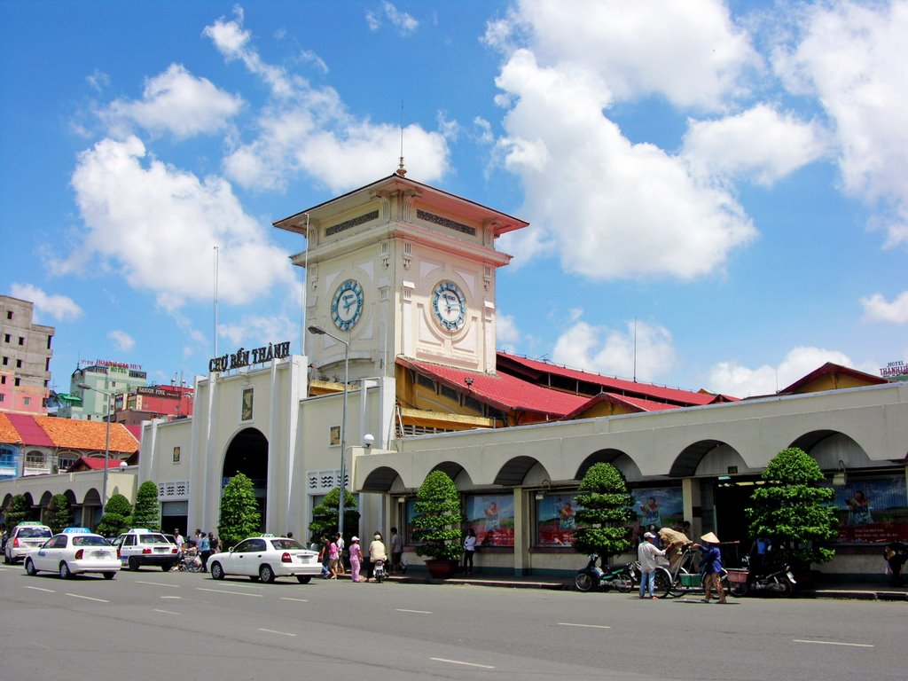 Ben Thanh Market in Ho Chi Minh 01