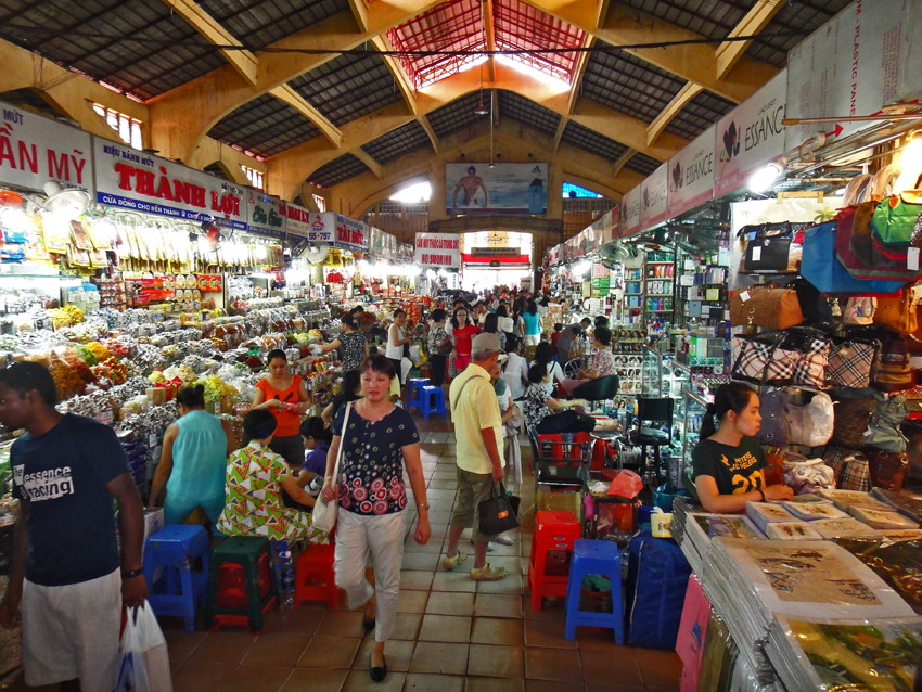 Ben Thanh Market in Ho Chi Minh 02