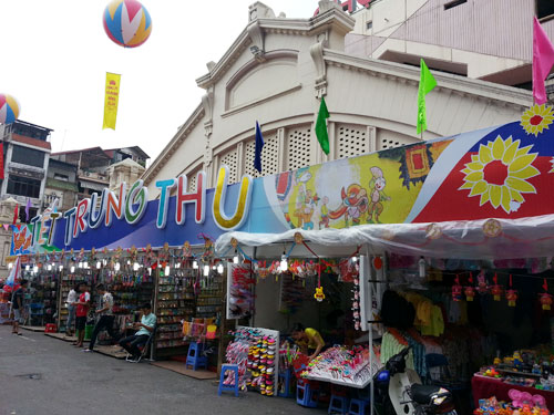 Ho Chi Minh city prepare for Mid-Autumn Festival 1