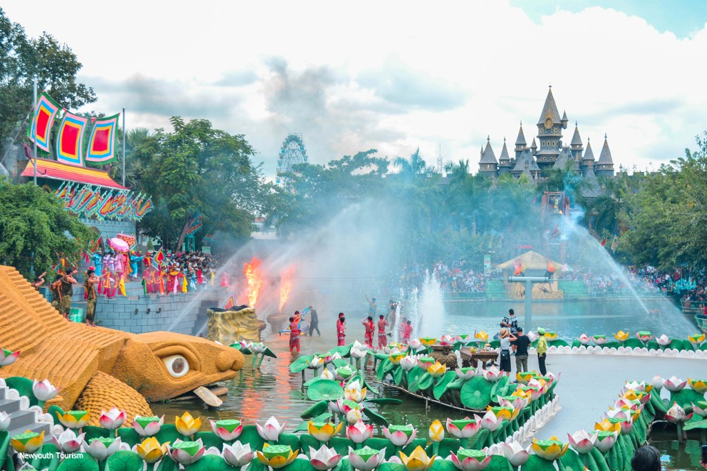Suoi Tien amusement park in Ho Chi Minh city