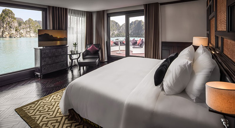 Five-Star President Cruises Sets Sail in Halong Bay, Vietnam 2