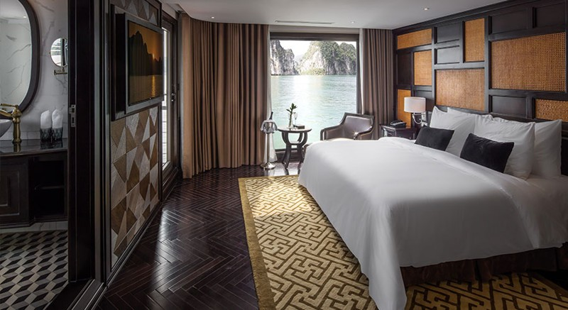 Five-Star President Cruises Sets Sail in Halong Bay, Vietnam 3