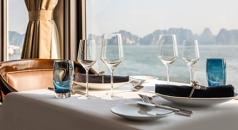 Five-Star President Cruises Sets Sail in Halong Bay, Vietnam 7