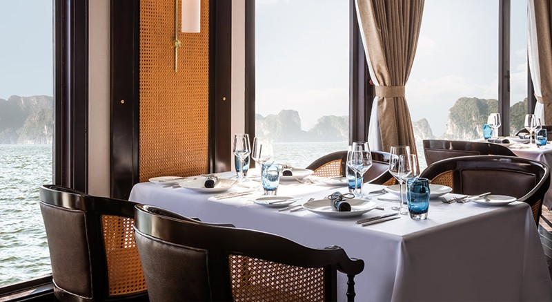 Five-Star President Cruises Sets Sail in Halong Bay, Vietnam 8