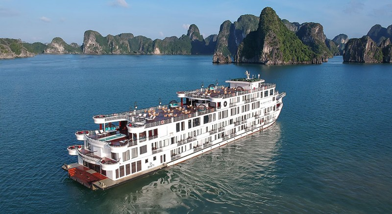 Five-Star President Cruises Sets Sail in Halong Bay, Vietnam 9