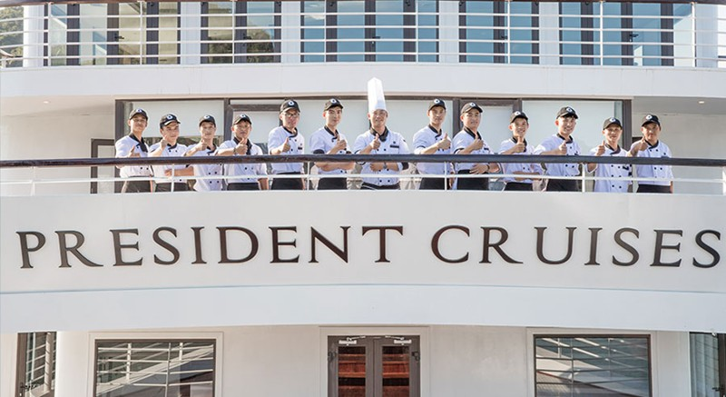 Five-Star President Cruises Sets Sail in Halong Bay, Vietnam 10