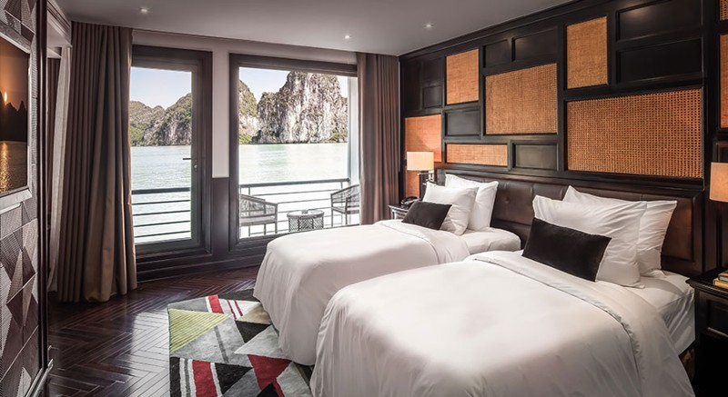 Five-Star President Cruises Sets Sail in Halong Bay, Vietnam 11