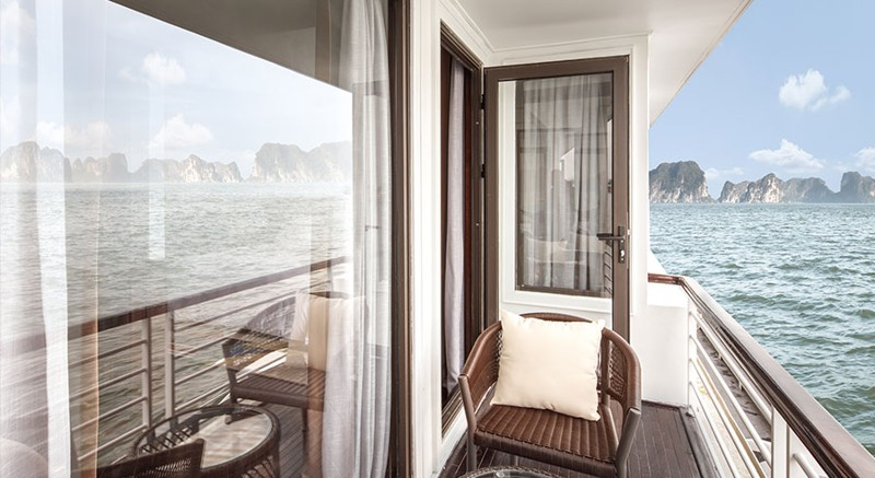 Five-Star President Cruises Sets Sail in Halong Bay, Vietnam 13