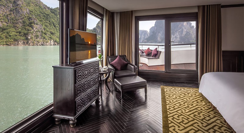 Five-Star President Cruises Sets Sail in Halong Bay, Vietnam 14