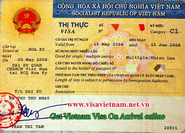 How to obtain Visa approval letter to Vietnam